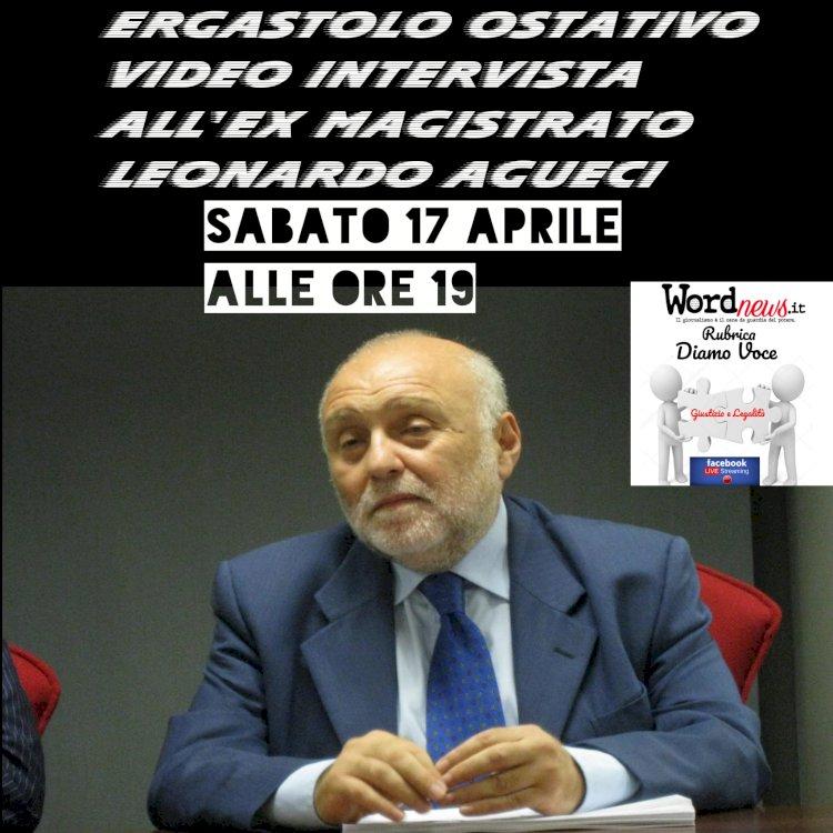 Ergastolo ostativo, parla il magistrato Leonardo Agueci