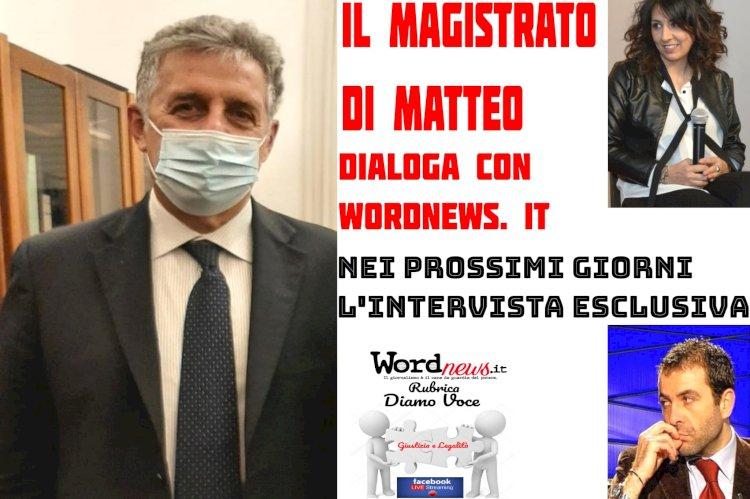 Intervista esclusiva al magistrato Nino Di Matteo
