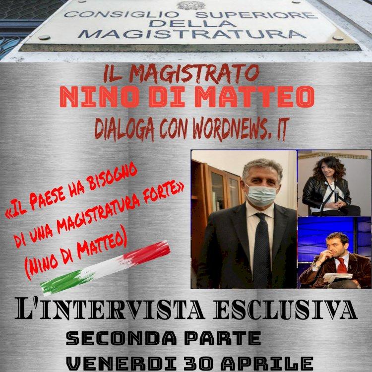 Intervista esclusiva al magistrato Di Matteo, domani la seconda parte