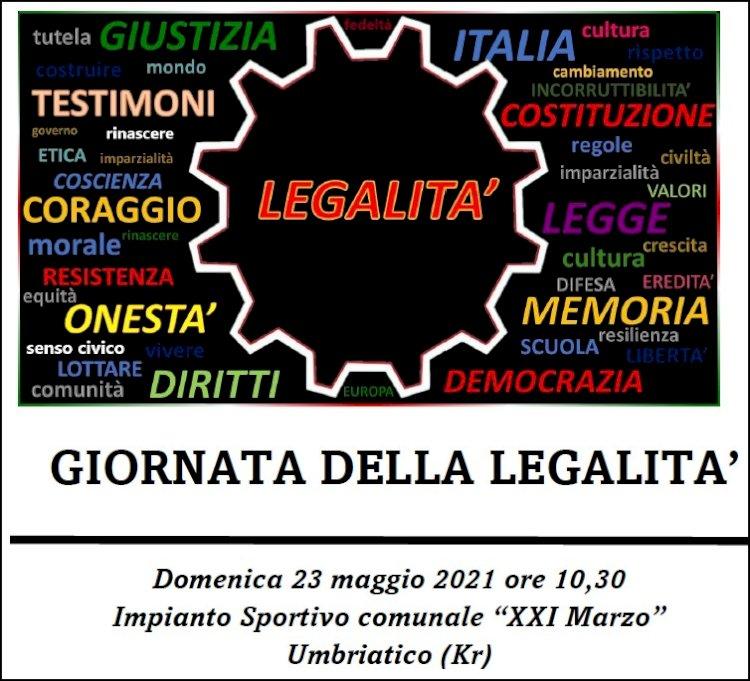 Giornata della Legalità