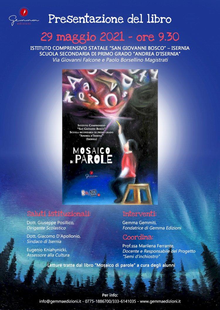 """Presentazione del libro """"Mosaico di parole""""-  Selfie di noi Junior"""