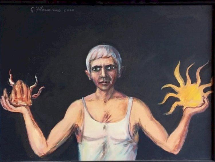 Giovanni Filocamo, la pittura dell'anima e dell'eros  di Rocco Zani