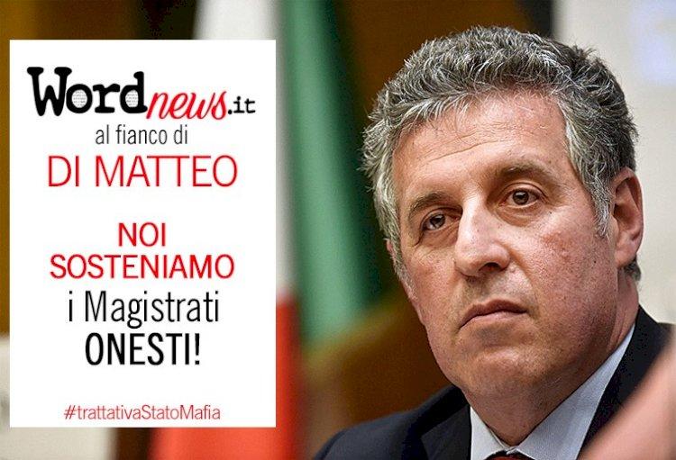 Noi sosteniamo il magistrato DI MATTEO