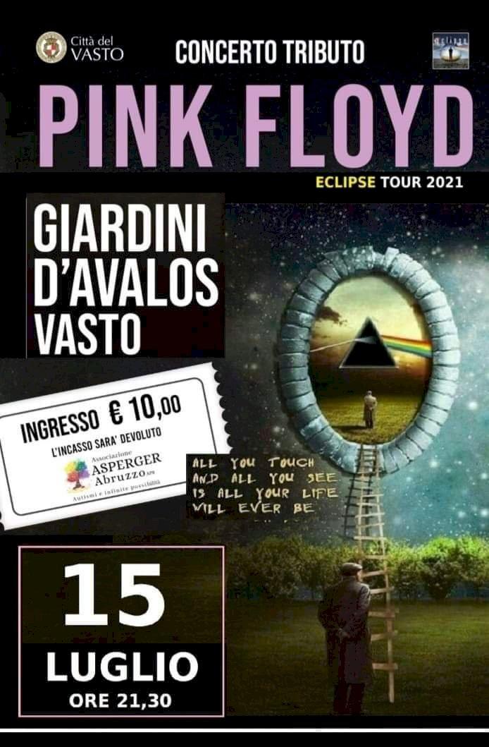 A Vasto il 15 luglio concerto Tributo Pink Floyd