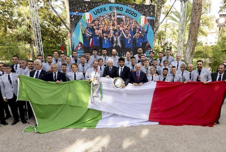 Mattarella agli Azzurri campioni d'Europa: «Avete reso felici milioni di persone»