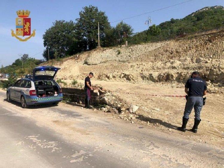 Frana di Castelpizzuto: nuovo sequestro della Polizia Stradale