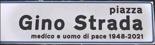 Gino Strada ha scelto l'essere umano