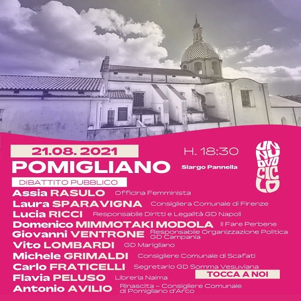 Il #TamponTaxTour fa tappa a Pomigliano