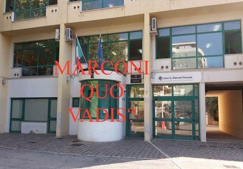 Il governatore «basta Dad», studenti Liceo Marconi Pescara: «meglio da casa che lo spezzatino»
