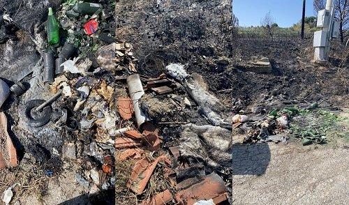 Vasto, bruciano per la seconda volta in un mese e mezzo i rifiuti nella discarica abusiva
