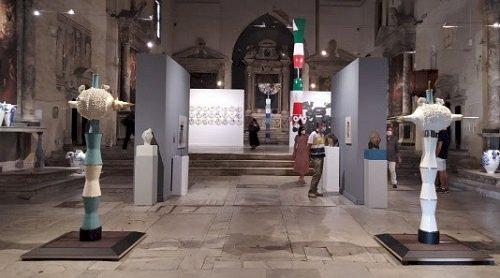 Pisano: inaugurata a Pietrasanta la mostra personale