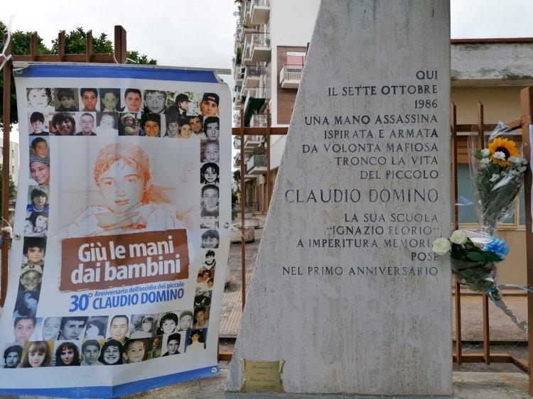 Palermo ha commemorato Claudio Domino