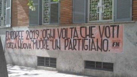 No ai fascisti nelle istituzioni