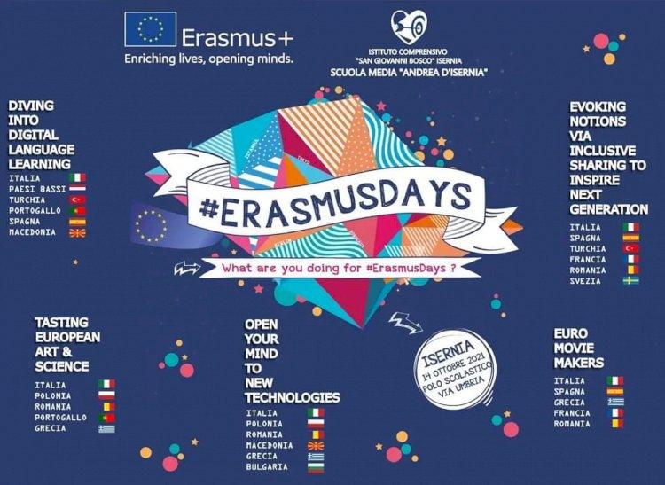 #Erasmusdays all'Andrea d'Isernia